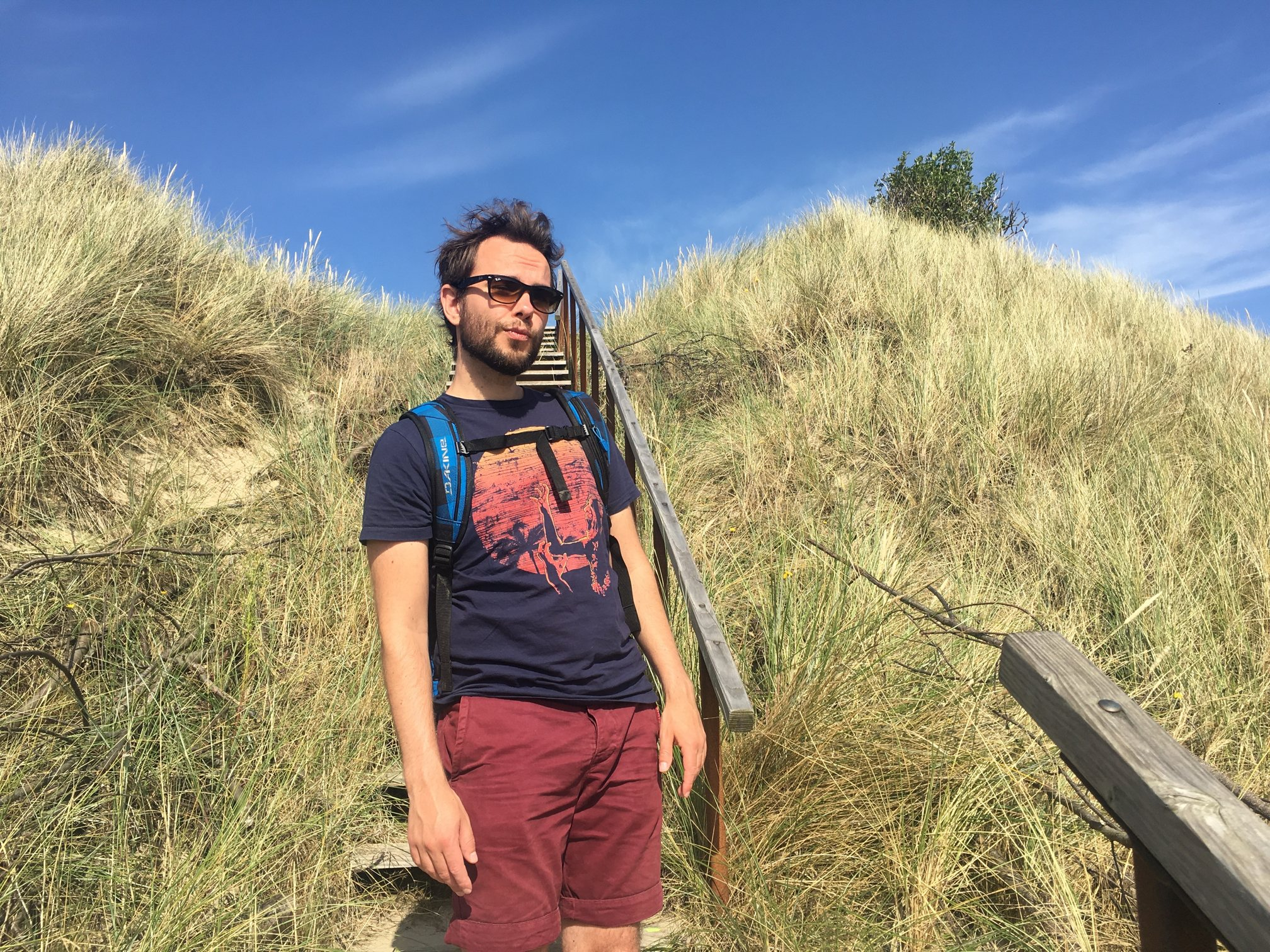 Picture of me chilling on a dune